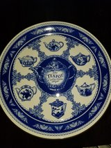 Teapot collection plate. Ringtons in Eglin AFB, Florida