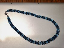 Blue Flower Choker Necklace in Joliet, Illinois