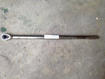 "1/2"" Torque Wrench - 22 1/2""L by Cornwell  Up to 150 lbs. in Joliet, Illinois"