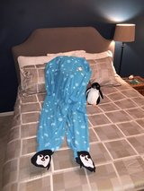 Penguin onesie in Joliet, Illinois