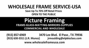 Custom picture framing in Fort Bliss, Texas