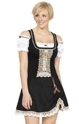 Octoberfest Ready clothes: Women's German-made short dirndl in Fort Meade, Maryland