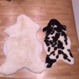 2 Genuine German Sheepskin Rug in Stuttgart, GE