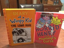 Diary of a Wimpy Kid Vol 9 & Horrid Henry in DeRidder, Louisiana