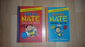 2 Big Nate Books - only 2 left! in Westmont, Illinois