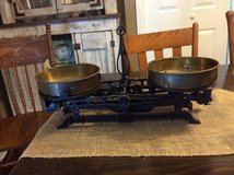 Old mercantile scales in Pleasant View, Tennessee