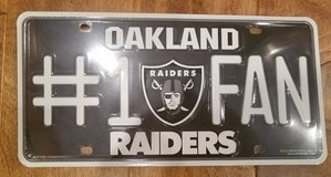 NFL Oakland Raiders in Bel Air, Maryland