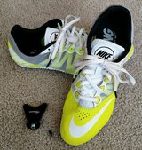NIKE RIVAL S TRACK SHOES SZ 9.5 WITH SPIKES in Joliet, Illinois
