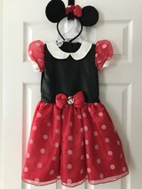 Halloween costume Minnie Mouse in Bartlett, Illinois