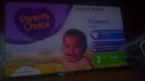 parents choice diapers size 3 in Las Vegas, Nevada