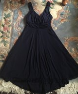 Navy blue classy formal or casual gown size 8 small/med in Elizabethtown, Kentucky
