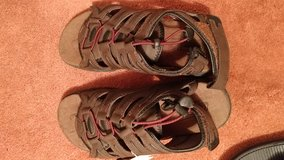 New coleman mens sandles and new flops size 9 in Camp Lejeune, North Carolina