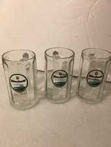 3 Beer Glasses in Ramstein, Germany