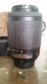 Nikon lens 55-200mm f4-5.6 in Fort Leonard Wood, Missouri