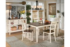 WHITESBERG DINING TABLE W/4 CHAIRS in Schofield Barracks, Hawaii