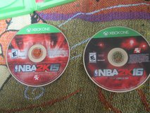 x box one  nba game  2 discs in Fort Campbell, Kentucky