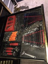Matco toolbox loaded with tools in Dover AFB, Delaware