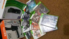 Xbox 360 slim, headphones, and games! in Clarksville, Tennessee