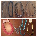 8 necklaces and one pair of earrings in Warner Robins, Georgia