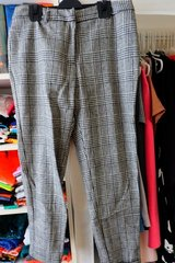F21 Tweed/checked trousers in Okinawa, Japan