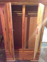Solid cedar cabinet in Cleveland, Ohio
