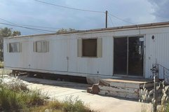 Double wide mobile home in Alamogordo, New Mexico
