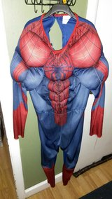 Spiderman costume in Fort Campbell, Kentucky
