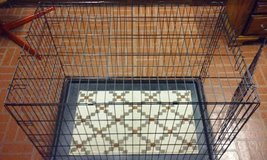 Folding Dog Cage Large Size 42L x 28W x 30H Like New in Elgin, Illinois