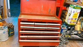 Craftsman 9 drawer tool box in Cherry Point, North Carolina