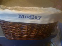 Wicker Basket with your Monogrammed name in Pleasant View, Tennessee