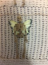 Skeleton-fairy garland in Fort Campbell, Kentucky