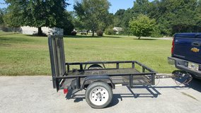 Trailer 4X8 with spare tire in Warner Robins, Georgia