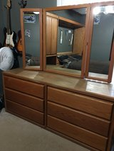 Solid oak bedroom set in Vacaville, California