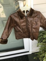 Child's leather-like jacket in Warner Robins, Georgia