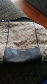 Brown Coach tote purse in Sugar Grove, Illinois
