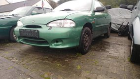 Hyundai Accent 1999 ALL SEASON TIRES many new Parts -850 Euro in Ramstein, Germany