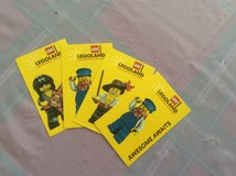 Set of 4 Legoland 1-day resort hopper tickets for all ages for sale in Temecula, California