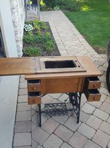 TREADLE SEWING MACHINE TABLE (No Sewing Machine) in Aurora, Illinois