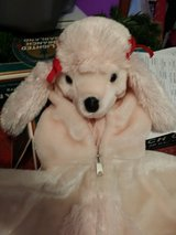 Pink poodle costume in Naperville, Illinois
