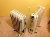 Kenwood and Honeywell electric radiant space heaters in Alamogordo, New Mexico