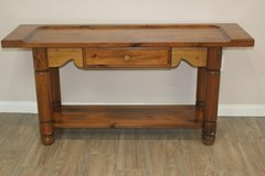 Solid Wood Sofa Table in CyFair, Texas