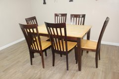 Dining Table and 6 Chairs in CyFair, Texas