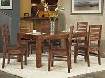 SALE!  URBAN  SOLID QUALITY UPSCALE DESIGNER SOLID WOOD DINING SET! in Camp Pendleton, California