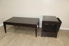 Modern Set of Tables (Dark Brown) in Tomball, Texas