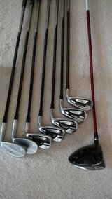 Titleist irons and TaylorMade driver in Wilmington, North Carolina