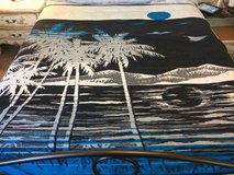 Queen size soft blanket in 29 Palms, California