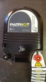 Patriot P10 dual purpose 110v or Battery electric fence charger up to 100 acres in Yucca Valley, California