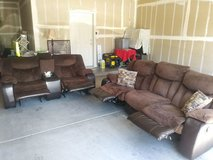 Reclining Couch and Loveseat in Yuma, Arizona