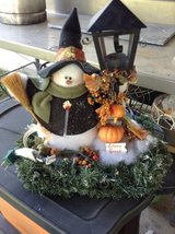 Fall decoration in New Lenox, Illinois