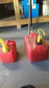 2 Plastic Gas Cans. in Cleveland, Ohio